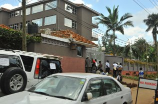 The South African High Commission in Kampala (Ronald Kabuubi EAPPA IMAGES).