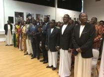 The Katikkiro and Mengo Ministers.