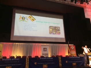 George Mutabaazi's presentation