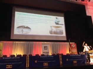 George Mutaabazi's presentation