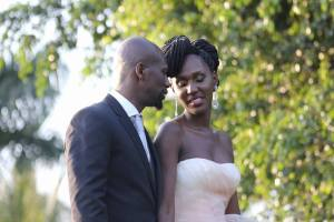 Jacob's Cross Famed Actor Bola (Fabian Lojede-real name) weds Seanice Kacungira (famed Ugandan presenter).