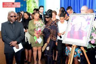 Mourners at Jane Kiiza's funeral(Eyecon Media image)