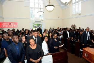 Jane Kiiza's funeral