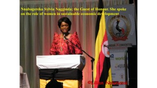Nnabagereka Sylvia, the Guest of Honour