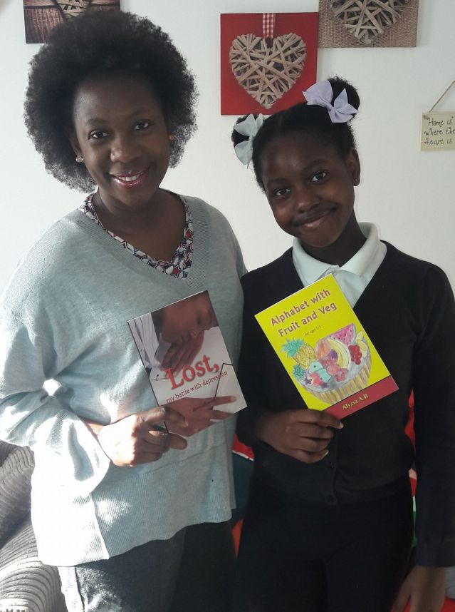 Mother and daughter authors. Books ready to buy.