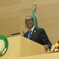 President Paul Kagame; African Union's New Chair-2018. Third Chair from East Africa since the AU's establishment in 2001.