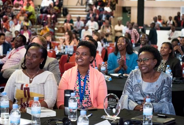 Aceng with Diane Gashumba