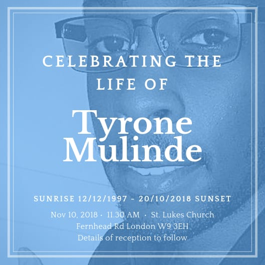 Tyrone funeral service